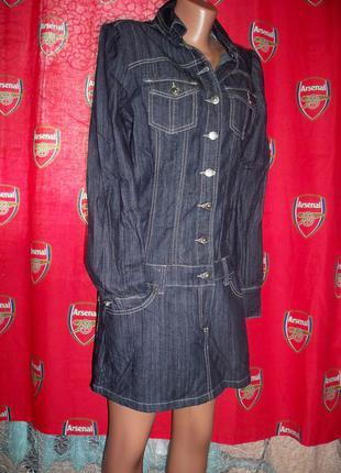 ... Фірмове нове джинсове плаття just addict e29d2f7d242eb
