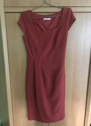 Платье vipart кораллового цвета