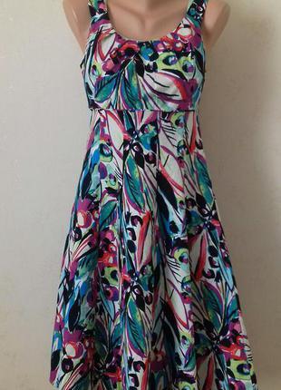 Скидки,распродажа...много красивых вещей.яркое платье с цветным принтом