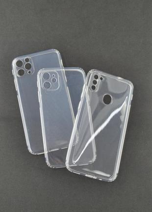 Прозрачный чехол на популярные модели смартфонов