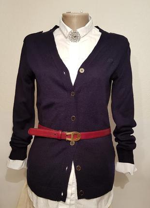 Шикарный люксовый кардиган armani jeans шерсть