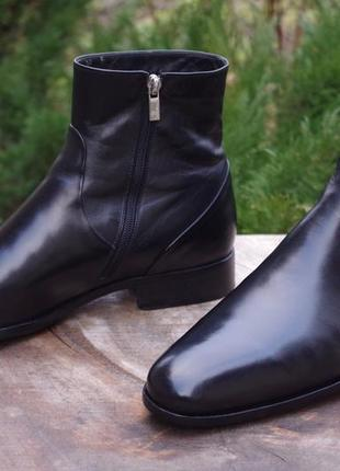 Bruno magli ботинки сапожки зимние тёплые италия