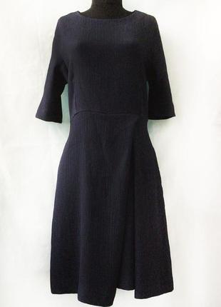 +красивое темно-синее платье max&co