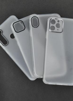 Матовый чехол на популярные модели смартфонов