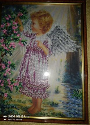 Картина ,,ангелочек,,