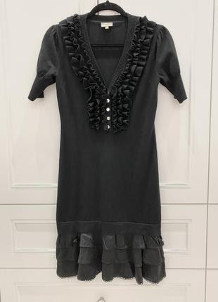 Платье karen millen шерсть р.3 {s-m}