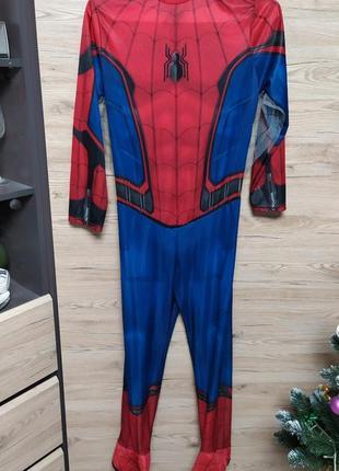 Взрослый костюм аниматора спайдермен, человек паук, l р.