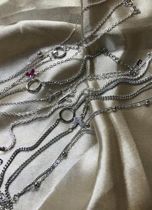 Срібний браслет, кулон, підвіска