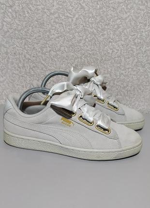 Puma оригинал замшевые кеды кроссовки кросівки кросы кеди