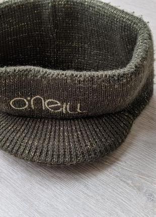 Яркая повязка на голову с козырьком, шапка o'neill оригинал размер универсальный