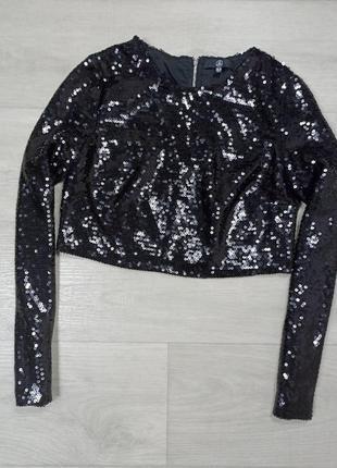 Блуза в паетках