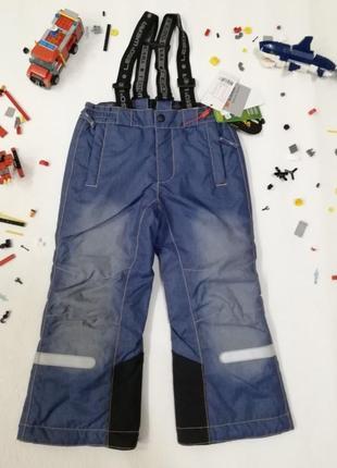 Детские зимние штаны полукомбинезон lego wear р.104 reima columbia
