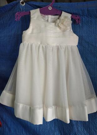Платье до года.
