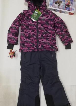 Детский зимний горнолыжный костюм раздельный комбинезон р.104 lego wear reima