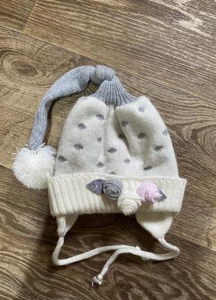Тепла шапочка/шапка