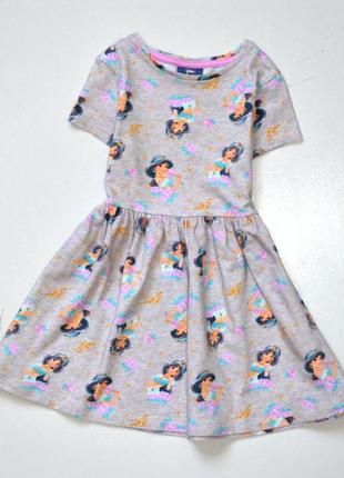 Disney aladdin платье с героиней мультфильма. 2-3 года