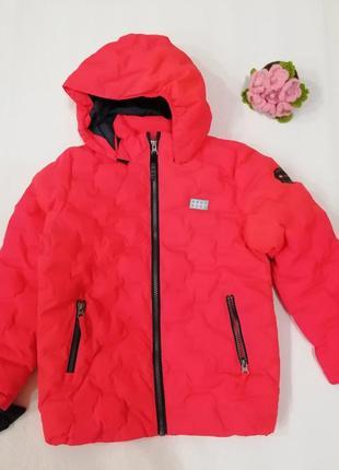 Детская зимняя куртка лыжная курточка для девочки lego wear р.128-134 reima lenne