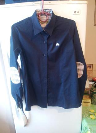 Фирменная женская рубашка  от бренда «burberry»