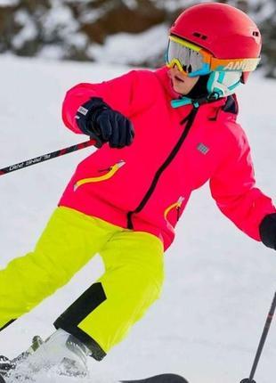 Зимняя лыжная мембранная куртка для девочки р.140 lego wear reima columbia