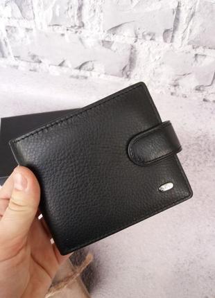 Мужской кожаный кошелек чоловічий шкіряний гаманець
