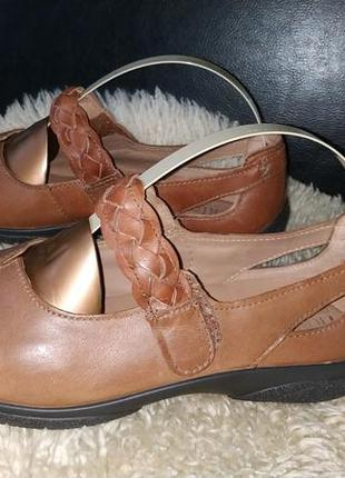 Hotter туфли мокасіни шкіра