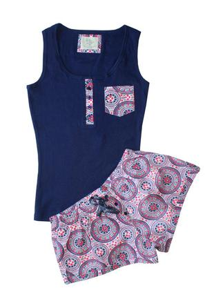 Пижама майка и шорты primark