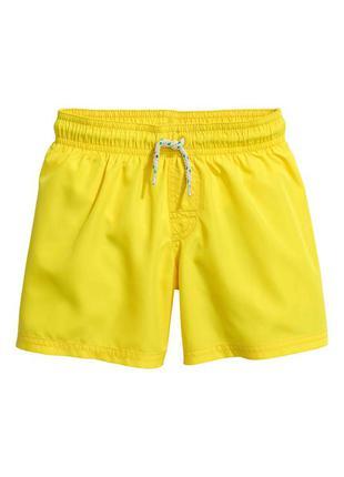 Плавки шорты для мальчика (4-8 лет) h&m