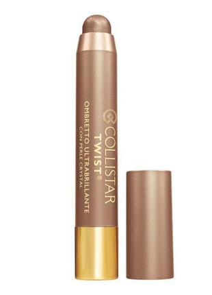 Стойкие тени карандаш collistar twist ultra-shiny eye shadow 106 bronzo