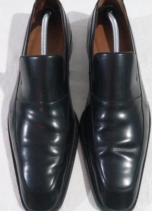 Классические туфли лоферы bally швейцария