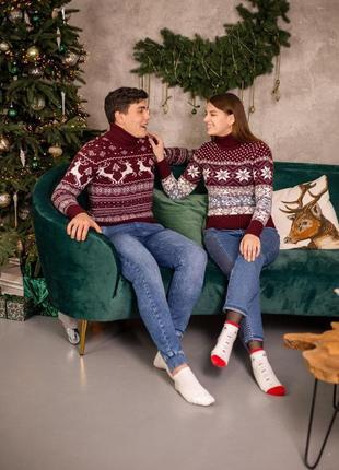 Праздничные свитера ❤️