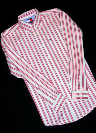 Tommy hilfiger шикарная брендовая рубашка на мальчика - 11 - 13 лет