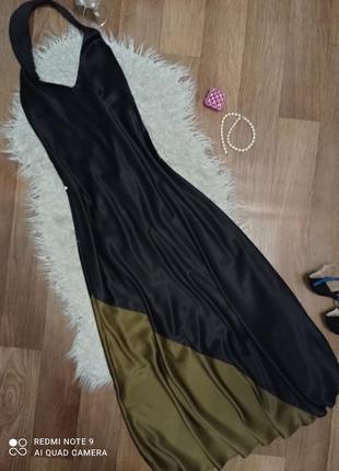 Люксовое,розкошное ,дизайнерское платье.размер 46-48.
