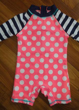 Купальный костюм купальник на 6-9 месяцев