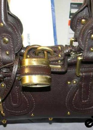 Chloe paddington italy mini satchel bag номерная