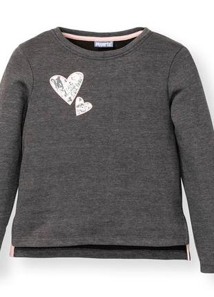 Трикотажный свитер свитшот двунитка