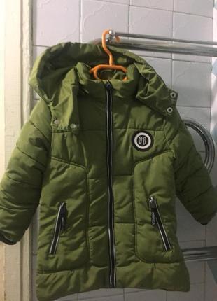 Куртка пуховик на зиму