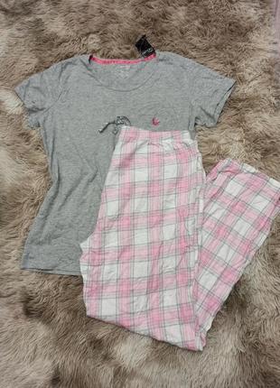 Шикарный комплект для дома, пижама esmara/jolinesse р. евро l 44/46 наш 50/52