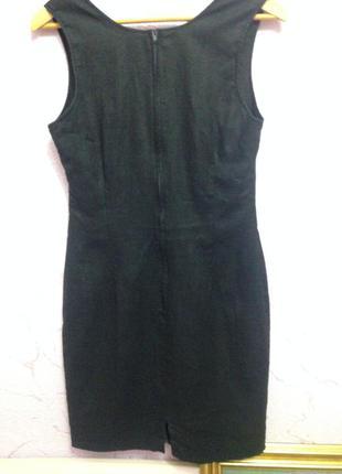 Льняное платье #платье# футляр #лен# размер l3 фото
