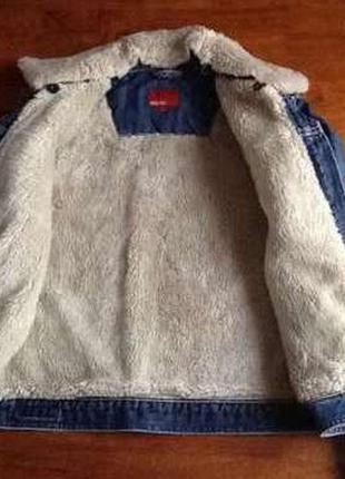Новая джинсовая куртка madoc