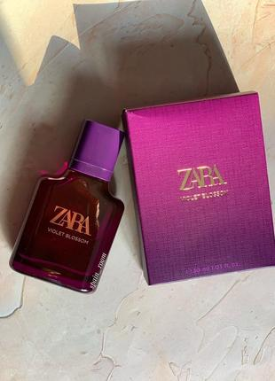 Духи zara violet blossom/жіночі парфуми/парфюм /туалетная вода