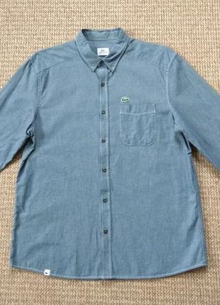 Lacoste рубашка оригинал (l)