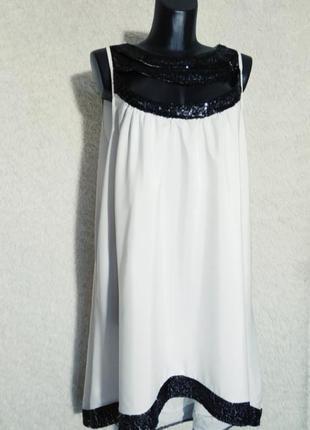 Стильное платье туника батал