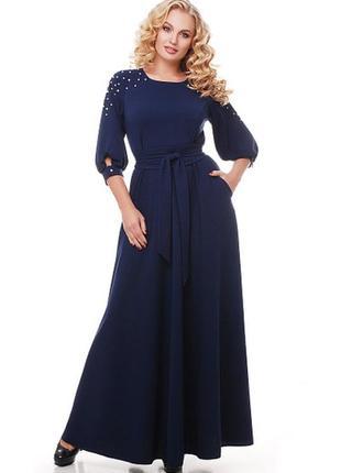 Платье вечернее большого размера