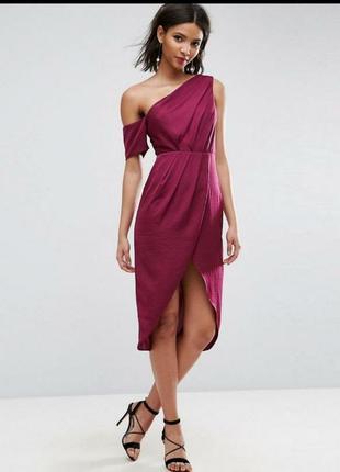 Вечернее платье asos марсала
