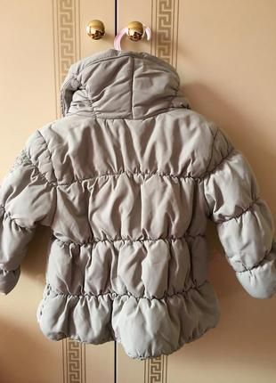 Курточка zara baby collection