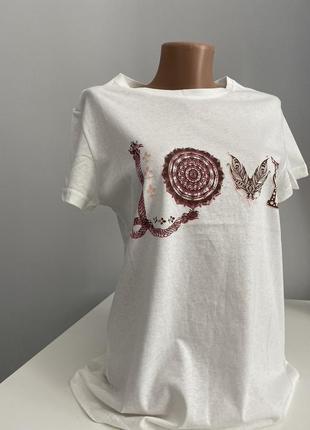 Женская футболка из хлопка