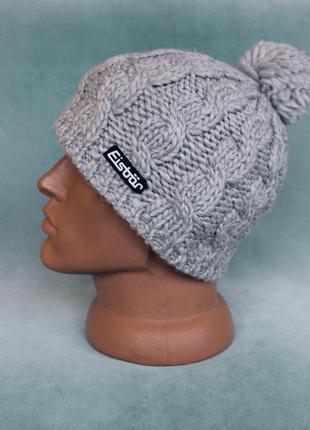 Eisbär® шапка вязаная с флисовой подкладкой