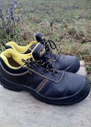 Туфли рабочие с металлическим носком