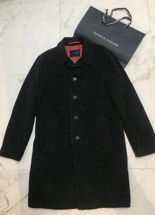 Шикарное пальто прямого кроя tommy hilfiger