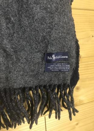Vintage polo ralph lauren шарф
